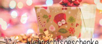 Weihnachtsgeschenke sind toll und gehören zum Weihnachtsfest dazu. Ein Heiligabend ohne Geschenke ist für mich kein Weihnachten.