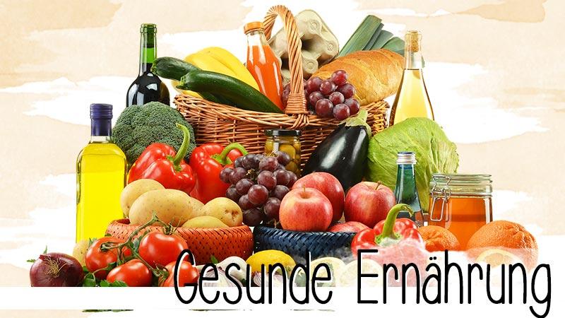6 kleine Regeln, mehr braucht es gar nicht, damit die eigene Ernährung einem die Gesundheit erhält.