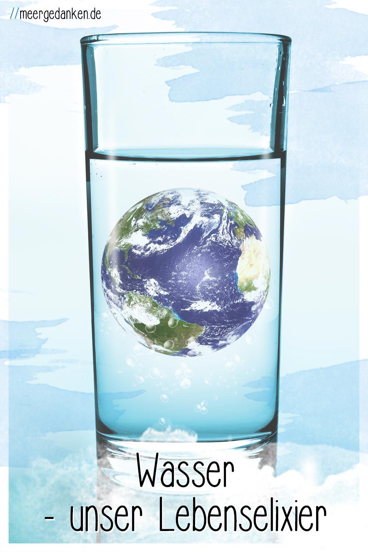 Ausreichend Wasser zu trinken ist sehr wichtig für uns. Mit Kräutern, Gemüse und Obst schmeckt es auch noch gut.