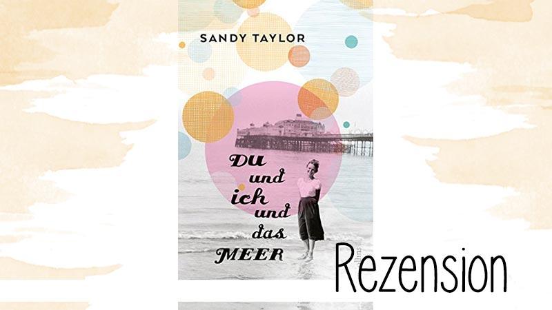 Sandy Taylor - DU und ich und das MEER ist einfach ein schönes Buch. Vom Umschlag bis zum Inhalt, einfach schön. Und doch auch sehr ernst.