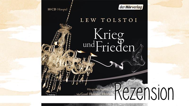Krieg und Frieden von Lew Tolstoi ist zu recht ein echter Klassiker. Selbst als gekürztes Hörspiel weiß er noch zu überzeugen.