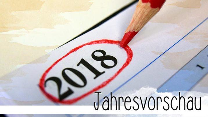 2018 heißt für mich Erfolg. Ich habe viel vor und mein Ziel ist es, dabei erfolgreich zu sein.