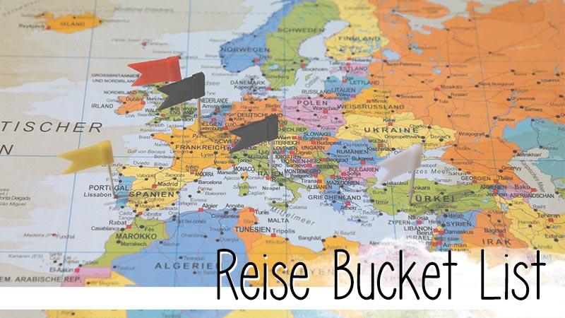 Eine Reise Bucket List hilft einem dabei seine Wünsche und Träume zu sortieren und sich so darüber klar zu werden, wohin die Reise wirklich gehen soll.