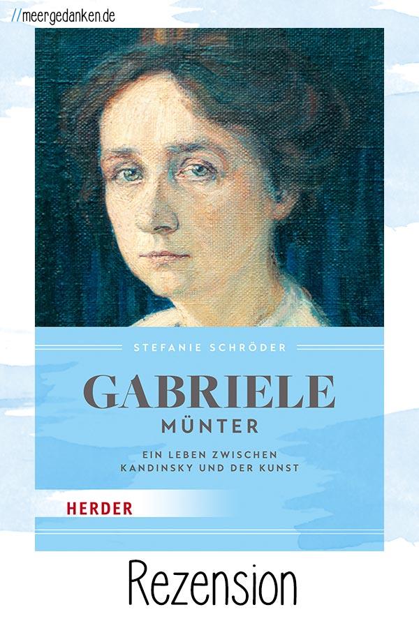 Eine Romanbiografie über Gabriele Münter von Stefanie Schröder, die sich sehr auf die Künstlerin fokussiert und den Menschen dahinter so leider nur unzureichend darstellt.