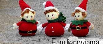 Das perfekte Kuscheloutfit an Weihnachten: Der Familienpyjama. Zumindest in der Theorie. Ob der Schlafanzug für die ganze Familie wirklich überzeugt?