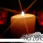 Eine kleine Kerzenflamme kann eine große Wirkung haben. Kerzenschein steht für Besinnlichkeit, Hoffnung und Wärme. Das, was wir jetzt brauchen.