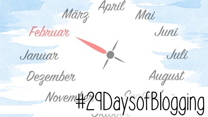 2020 wage ich zum dritten Mal das Abenteuer #29DaysofBlogging. Dieses Jahr allerdings mit meinen eigenen Regeln.