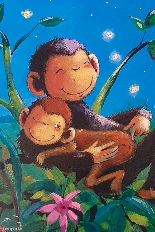 """Pappbilderbuch """"Wie kleine Tiere schlafen gehen"""" ... und zupft noch einen Floh, vom winzig kleinen Affenpo."""