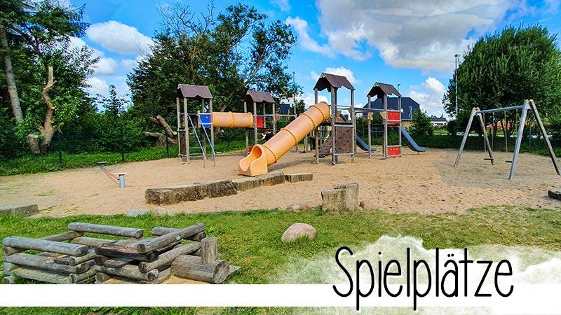 Ein Überblick über alle von uns getesteten Spielplätze in Ostholstein. Mit Karte zum einfachen finden und selbst dort spielen.