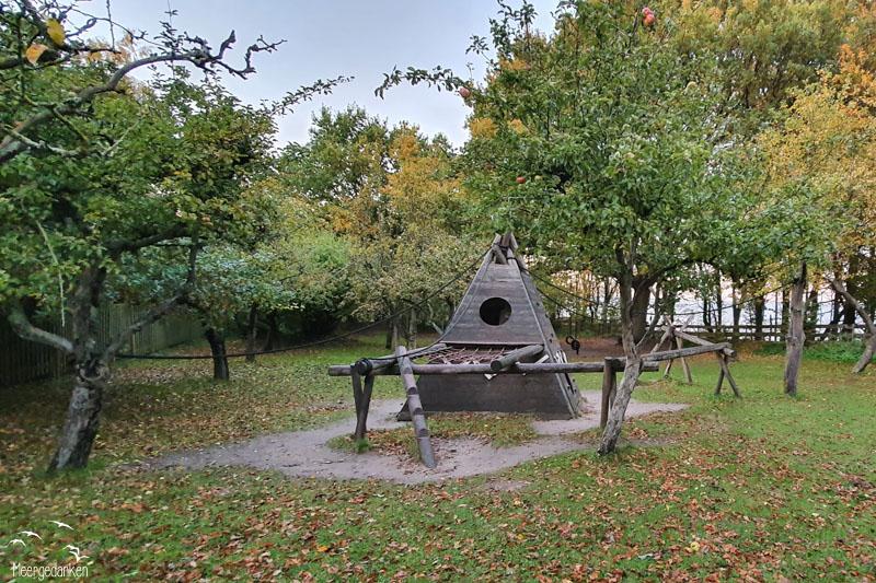 Spielplatz Travemünde Hermannshöhe Obstgarten
