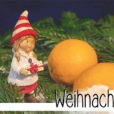 Weihnachten duftet nach Orange, Zimt und Nelken. Nach Glühwein und Plätzchen riecht der Advent.
