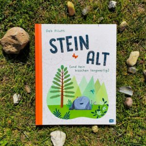 Steinalt hat in seinem Leben so einiges erlebt. Und davon erzählt er seinen Freunden, die es gar nicht fassen können. Ein wunderbares Bilderbuch über die Erdgeschichte.